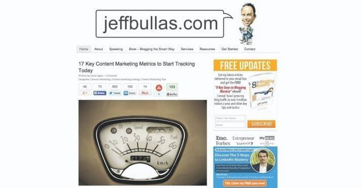 Blog Jeff Bullas