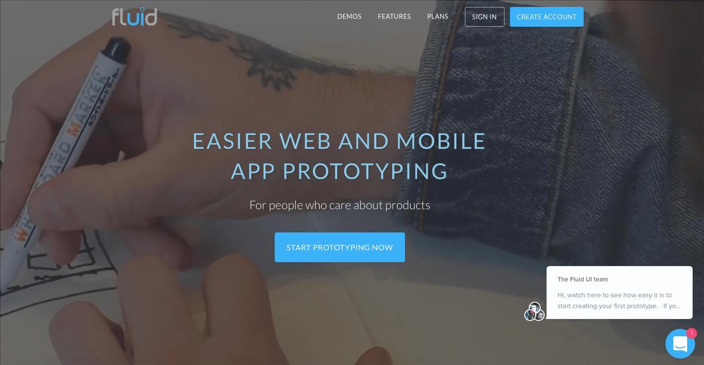 fluid-app-design-móvel