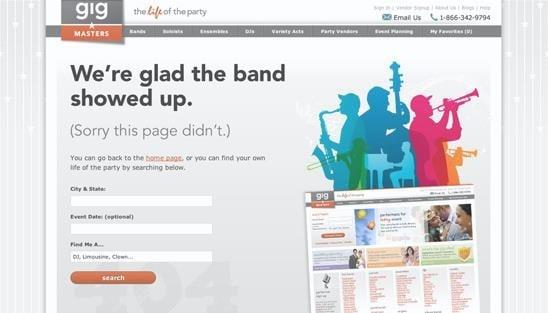 erro 404 gigmasters
