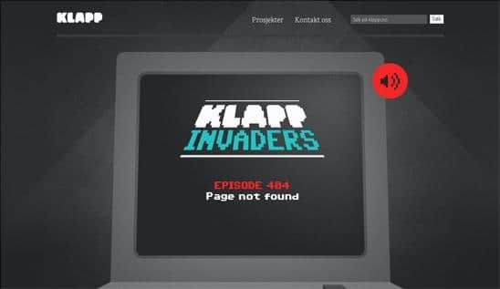 erro 404 klappmedia