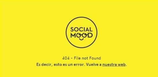 erro 404 socialmood